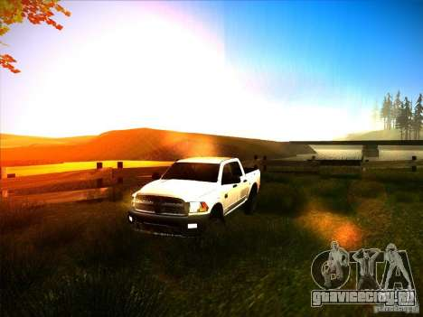 Dodge Ram Heavy Duty 2500 для GTA San Andreas вид сбоку