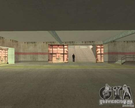 Пневматические ворота в зоне 69 для GTA San Andreas четвёртый скриншот
