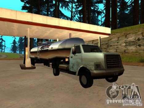 Yankee Truck для GTA San Andreas вид сзади