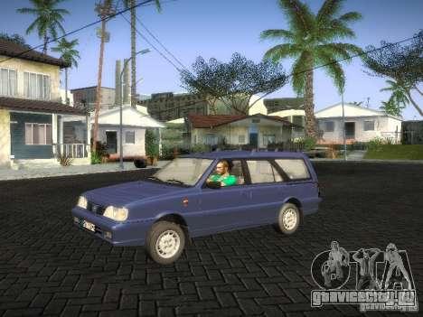 Daewoo FSO Polonez Kombi 1.6 2000 для GTA San Andreas вид сзади слева