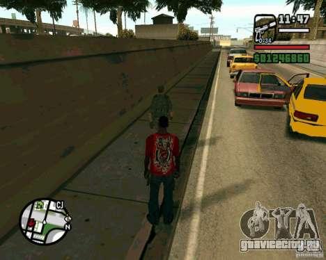 Иракский Солдат для GTA San Andreas четвёртый скриншот