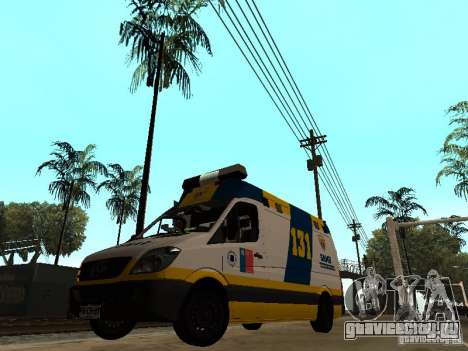 Mercedes-Benz Sprinter Ambulancia для GTA San Andreas