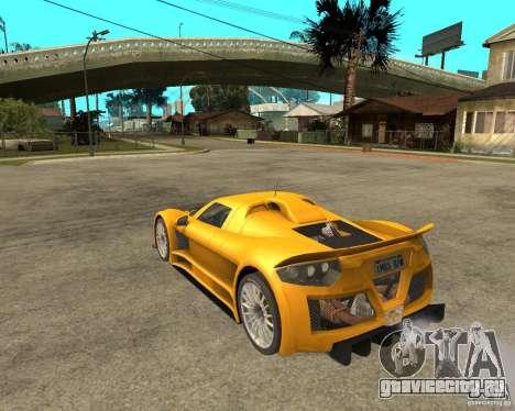 Gumpert Appolo для GTA San Andreas вид слева