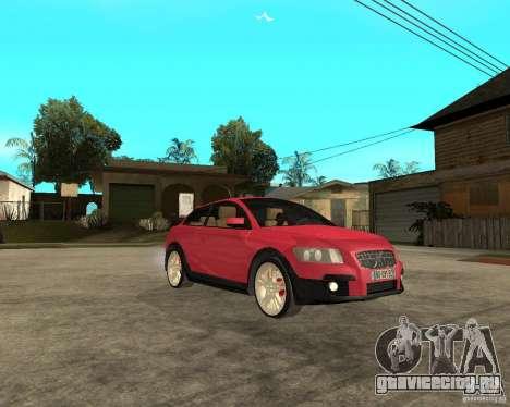 VOLVO C 30 T5 DEL 2008 для GTA San Andreas вид справа