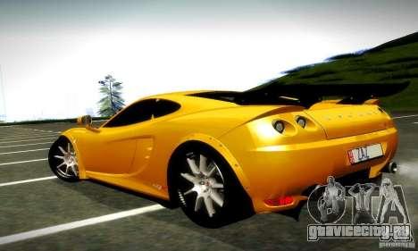 Ascari KZ1R Limited Edition для GTA San Andreas вид сзади слева