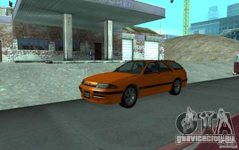 Stratum из GTA IV для GTA San Andreas вид изнутри
