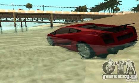 ENBSeries 0.075 (только вода) для GTA San Andreas второй скриншот