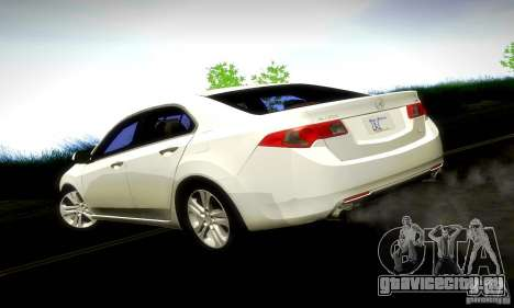 Acura TSX V6 для GTA San Andreas вид слева