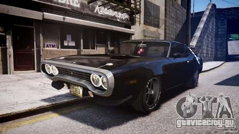 Plymouth Roadrunner 440 1971 для GTA 4
