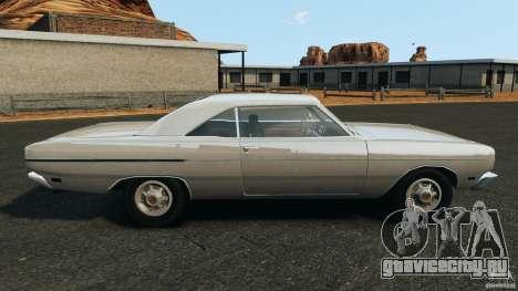 Dodge Dart 1969 [Final] для GTA 4 вид слева