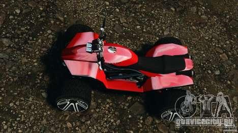 ATV PCJ Sport для GTA 4 вид справа