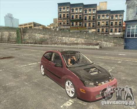 Ford Focus SVT для GTA San Andreas вид сзади слева