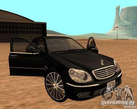 Mercedes-Benz S65 AMG W220 для GTA San Andreas