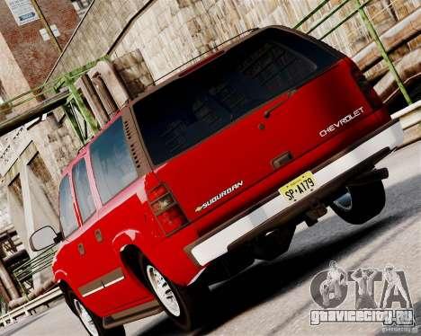 Chevrolet Suburban 2006 V1.1 CIVIL для GTA 4 вид справа