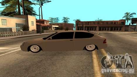 ВАЗ 2172 Приора для GTA San Andreas вид справа