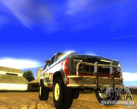 Blazer XL FlatOut2 для GTA San Andreas вид сверху