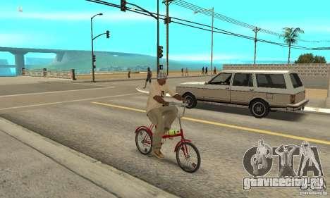 Кама велосипед для GTA San Andreas вид справа