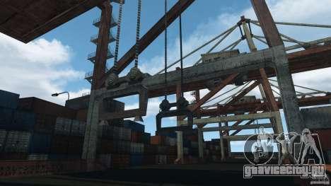 Tokyo Docks Drift для GTA 4 пятый скриншот