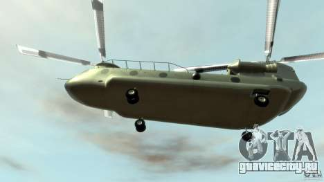 CH-47 для GTA 4 вид сбоку