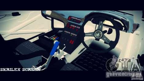 Nissan 380sx BenSpora для GTA 4 вид сзади