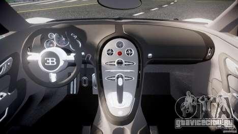 Bugatti Veyron 16.4 v1 для GTA 4 вид справа