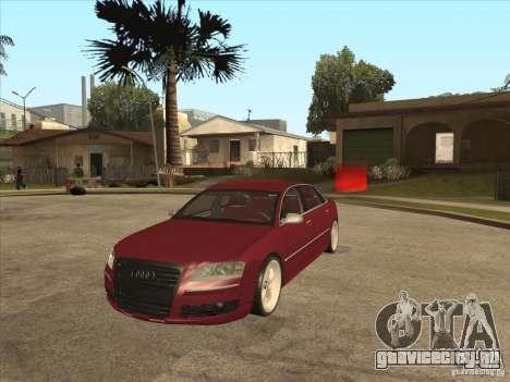 Audi A8 Switze для GTA San Andreas