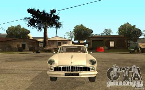 Москвич 423 М Скорая Помощь для GTA San Andreas вид справа