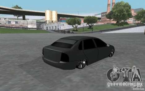 ВАЗ Калина для GTA San Andreas вид справа