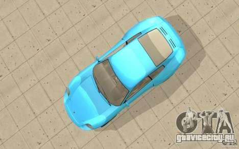 Comet из GTA 4 для GTA San Andreas вид справа