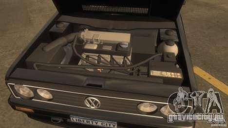 Volkswagen Golf для GTA 4 вид справа