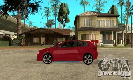 Alfa Romeo 147 для GTA San Andreas вид слева