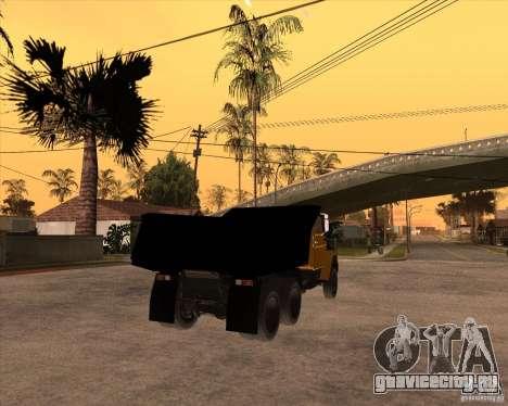 ЗиЛ ММЗ 4516 для GTA San Andreas вид сзади слева
