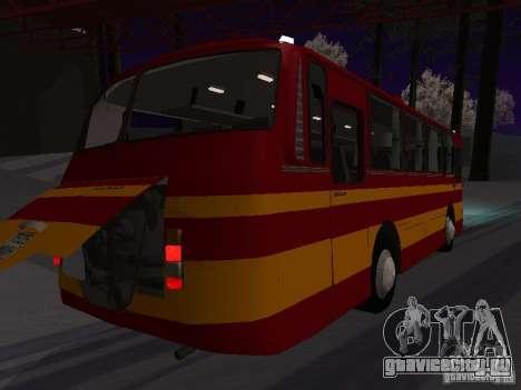 ЛАЗ 697Н для GTA San Andreas вид сзади слева