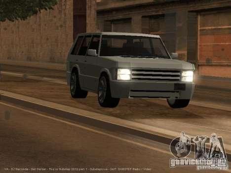 New Huntley для GTA San Andreas вид слева