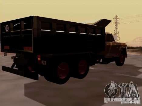 Dodge Dumper для GTA San Andreas вид сзади слева