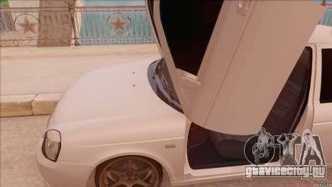 ВАЗ 2170 Sport для GTA San Andreas вид сзади слева