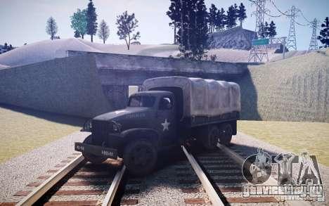 Millitary Truck из Mafia II для GTA 4