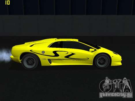 Lamborghini Diablo SV для GTA San Andreas вид слева