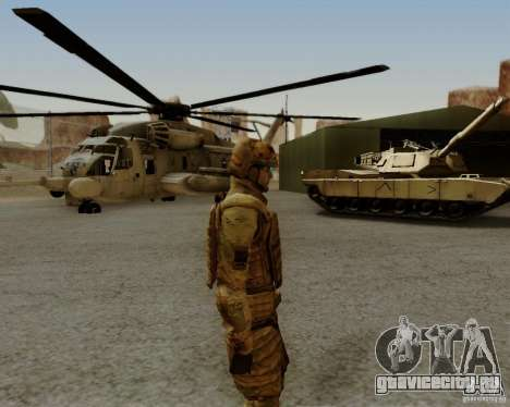 Tom Clancys Ghost Recon для GTA San Andreas шестой скриншот