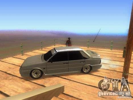 VAZ 2115 для GTA San Andreas вид слева