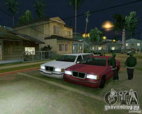 Elegant Limo для GTA San Andreas вид слева
