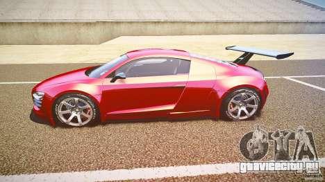 Audi R8 для GTA 4 вид слева