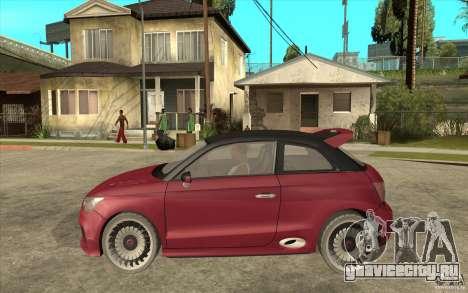 Audi A1 Clubsport Quattro для GTA San Andreas вид слева