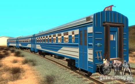 Поезд ER2-K-1321 для GTA San Andreas вид слева