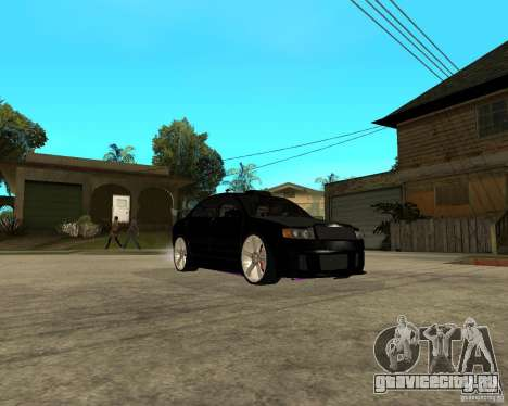 Skoda Superb HARD GT Tuning для GTA San Andreas вид изнутри