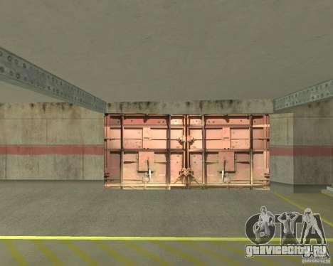 Пневматические ворота в зоне 69 для GTA San Andreas третий скриншот