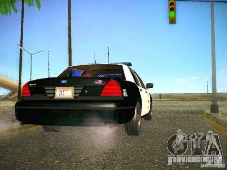 Ford Crown Victoria Police Intercopter для GTA San Andreas вид справа