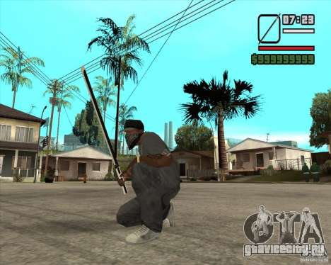 Sasuke sword для GTA San Andreas второй скриншот