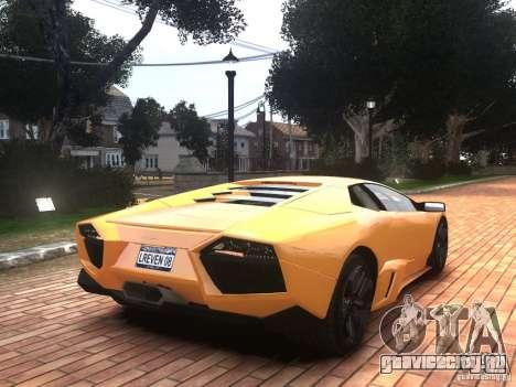 Lamborghini Reventon 2008 для GTA 4 вид слева