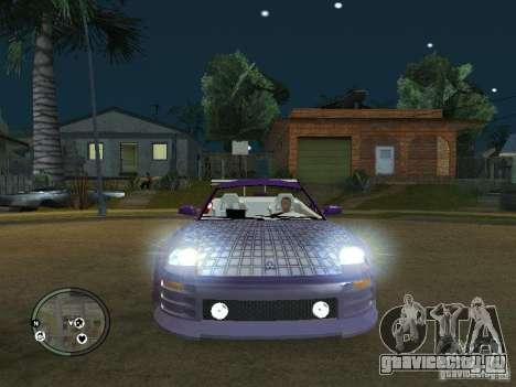 Mitsubishi Spyder 2Fast2Furious Cabriolet для GTA San Andreas
